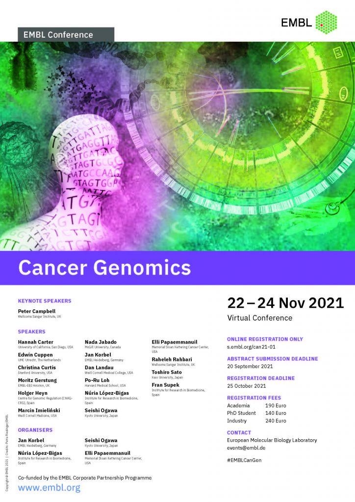 cancer genomics poster