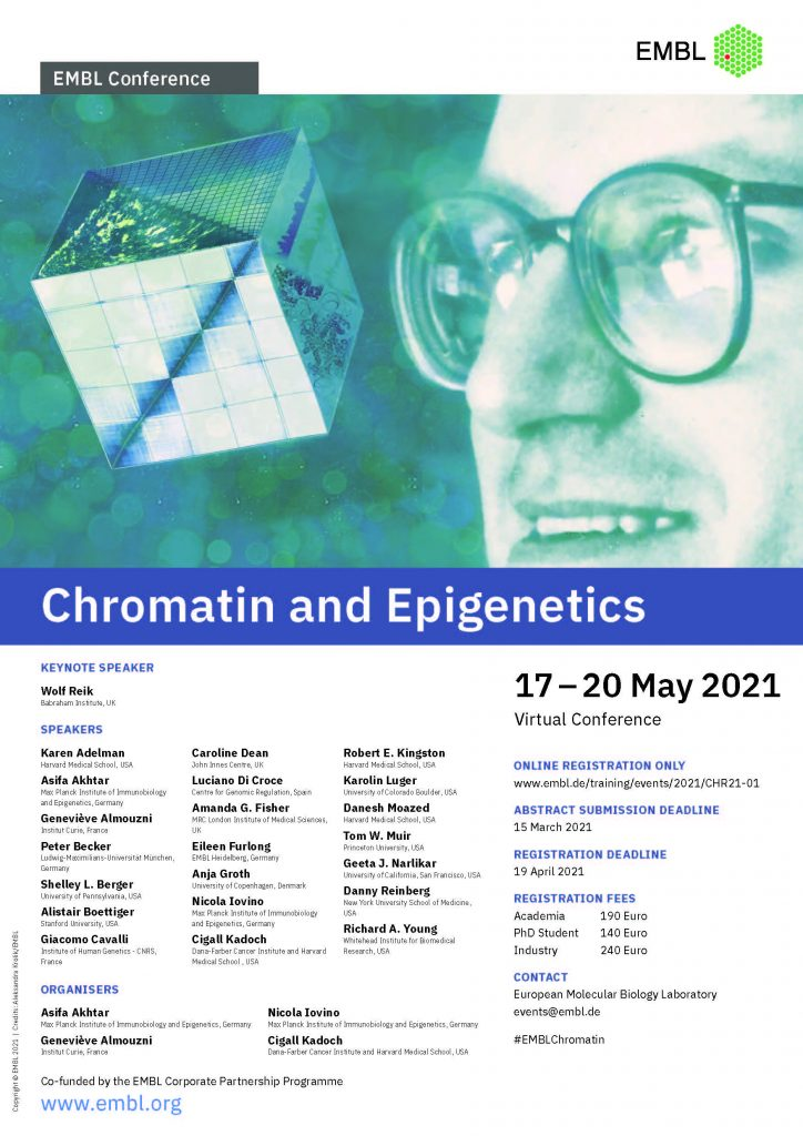 Chromatin and Epigenetics poster