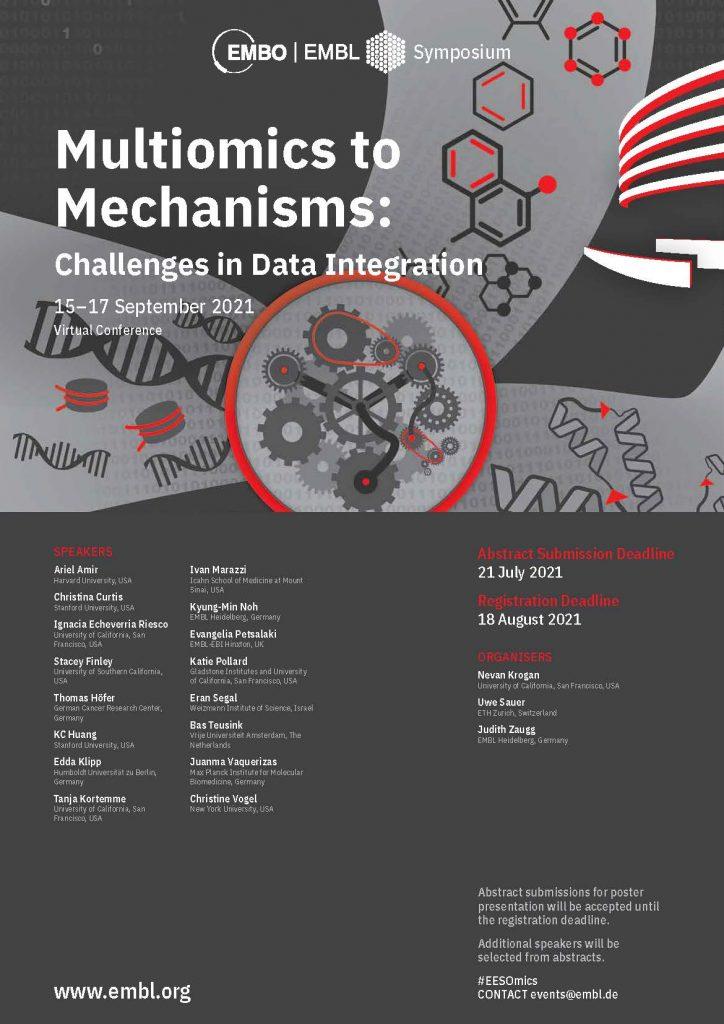 Multiomics to Mechanisms: Challenges in Data Integration poster