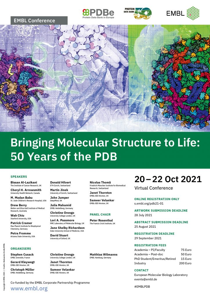 50 Years of the PDB poster