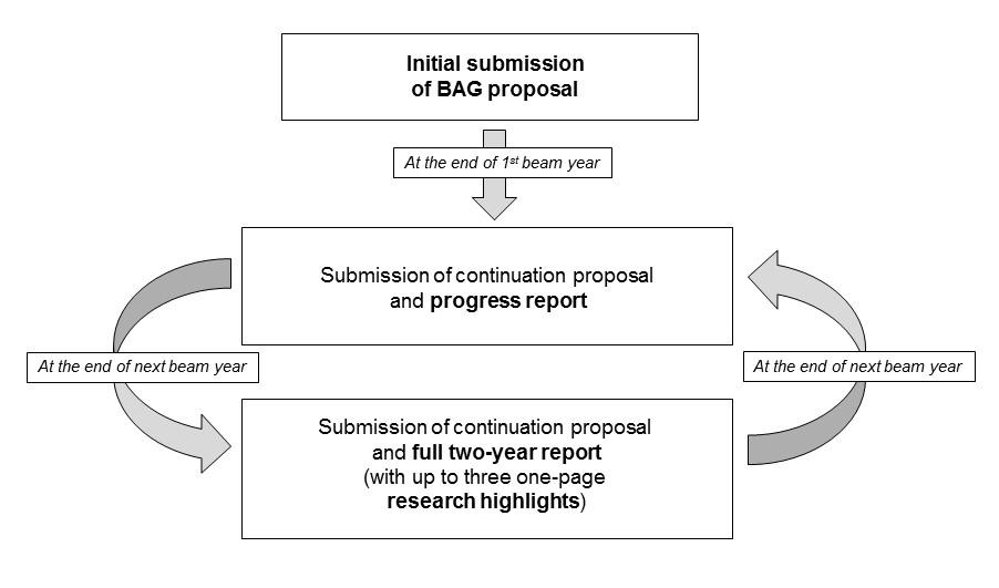 BAG proposal cycle diagramm