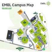 EMBL Heidelberg campus map cover