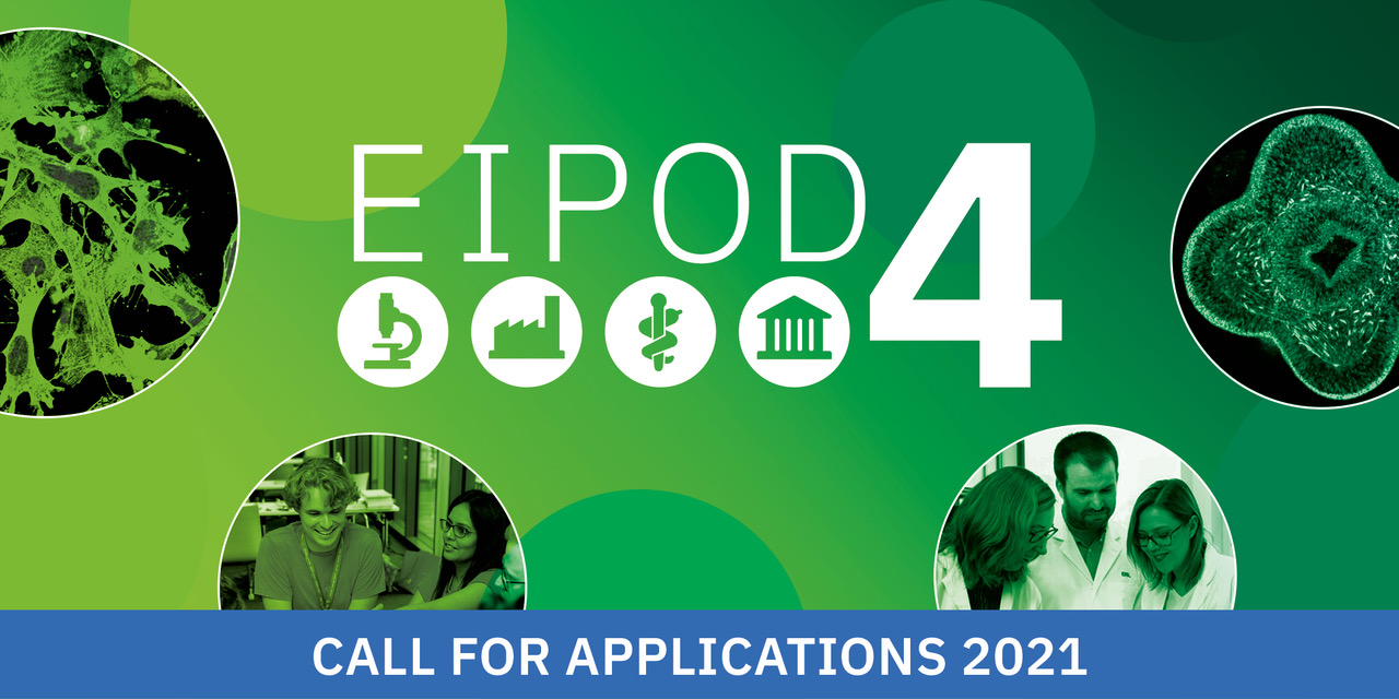 EIPOD4 logo: call for applications 2021