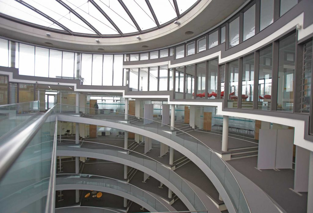 The new EMBL Advanced Training Centre in Heidelberg, Germany. PHOTO: Marietta Schupp/EMBL