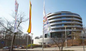 The new EMBL Advanced Training Centre in Heidelberg, Germany. PHOTO: Hugo Nevers/EMBL