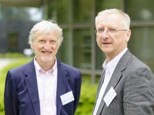Iain Mattaj (Director General, EMBL) and Walter Kolch (Director, SBI)