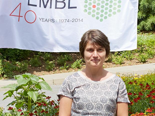 Czech delegate Jana Bystřická on her first visit to EMBL as a member of the Council. PHOTO: EMBL PHOTOLAB/HUGO NEVES