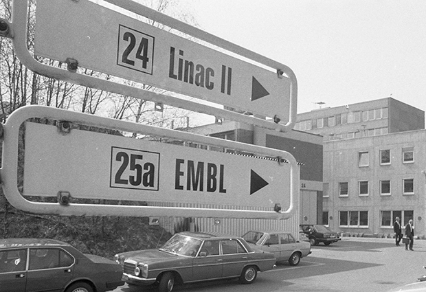 EMBL Hamburg was the Laboratory's first outstation, located on the DESY campus since 1975.  PHOTO: EMBL Photolab