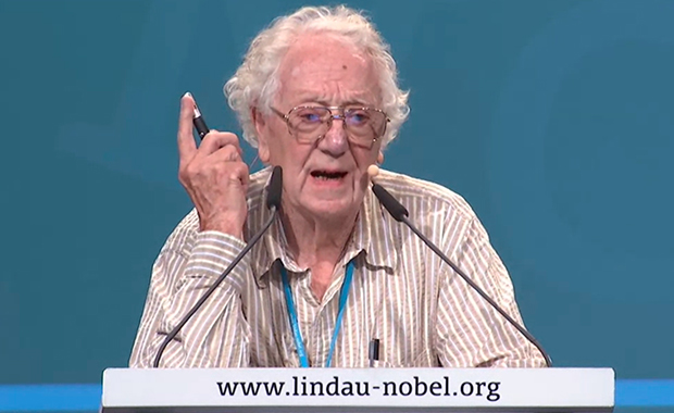 Oliver Smithies' presentation – Where Do Ideas Come From? – was particularly inspiring. Watch the video  CREDIT: Lindau Nobel Laureate Meeting Mediatheque