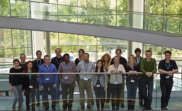 Group photo of the first EMBL-Illumina training course. PHOTO: EMBL/M. SCHUPP
