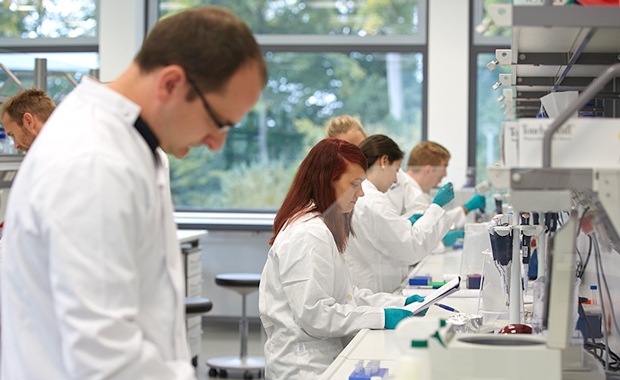 Participants in an EMBL-Illumina training course. IMAGE: EMBL/M. SCHUPP