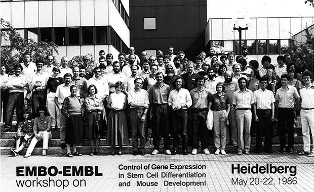 Group photo from one of the first courses organised at EMBL. IMAGE: N. van der Jagt