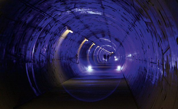 Underground construction of the European XFEL was completed in 2013. PHOTO: European XFEL