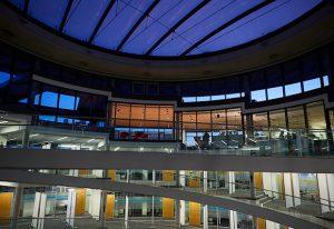 EMBL Advanced Training Centre: a striking venue for the CPP annual meeting. PHOTO: EMBL Photolab/Marietta Schupp