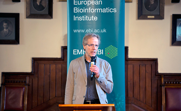 Halldór Stefánsson, Head of EMBL's Science and Society Programme, opened the event