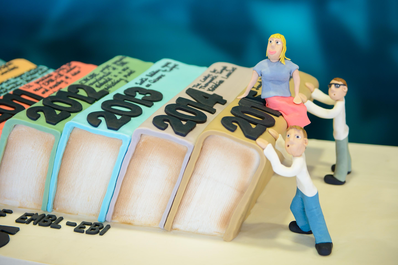 Timeline cake