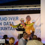Phil England hosts Handover on Data Mountain