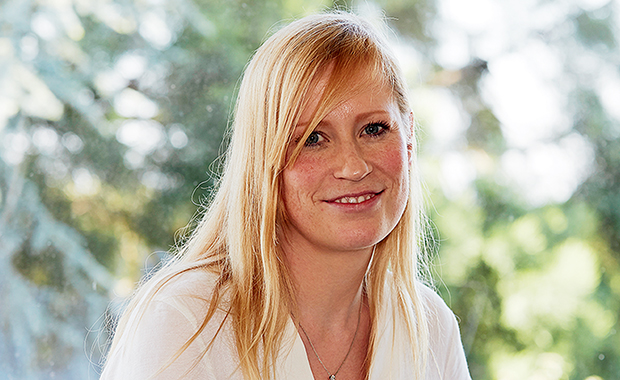 Melina Schuh, who completed her PhD at EMBL Heidelberg in 2008, is the winner of this year's John Kendrew Award for excellence in science and science communication. PHOTO: EMBL Photolab/Marietta Schupp