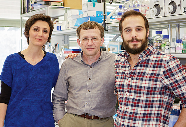 Fay Christodoulou, together with EMBL's Vladimir Benes and Miroculus' João Pereira de Lima