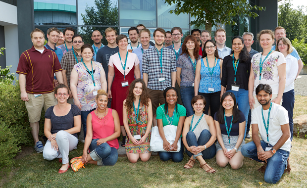 Participants from around the world joined experts in the field at EMBL Heidelberg. PHOTO: EMBL Photolab/Marietta Schupp