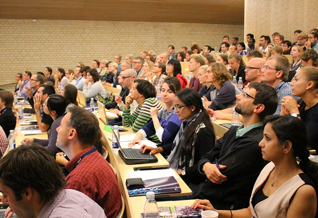 More than 170 representatives of EMBL and its four Nordic partnerships attending the annual meeting in September.