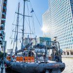 Tara expeditions docks in London, 2015