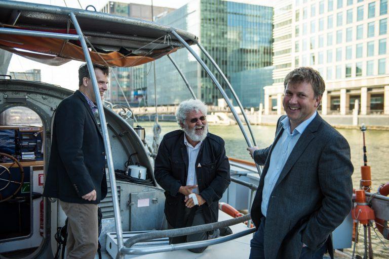 Rob Finn, Eric Karsenti and Ewan Birney