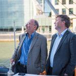 Mike Stratton and Ewan Birney on Tara, London 2015