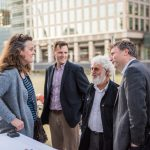 Clare Matterson, Rob Finn, Eric Karsenti and Ewan Birney, 2015