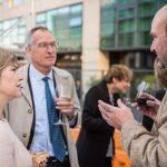 Guy Cochrane with Melanie Welham and Cyrille van Effenterre