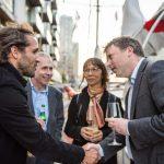 Romain Trouble and Ewan Birney, Tara in London 2015