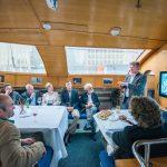 Ewan Birney talks about data in the life sciences on Tara in London, 2015