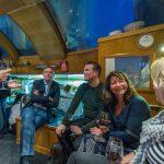 Jeremy Farrar with Rob Finn and colleagues