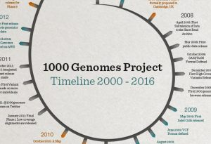 The 1000 Genomes Project: a timeline