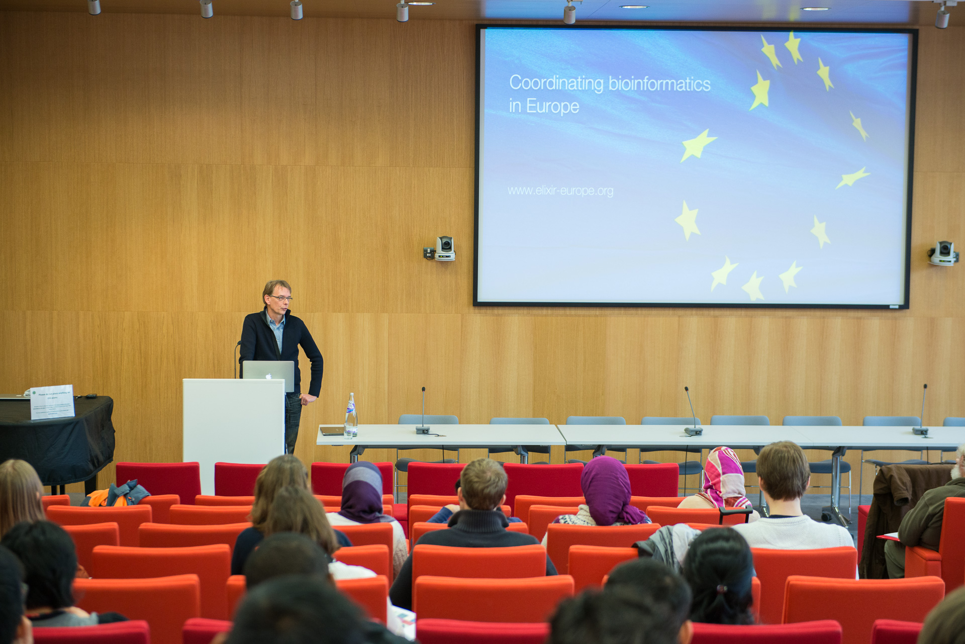 Rolf Apweiler, EMBL-EBI Open Day 2015