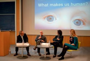 EMBL Heidelberg hosted a day's discussion on what makes us human. PHOTO: Jörg Langowski