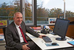 Roland Block, Head of Human Resources at EMBL. PHOTO: EMBL Photolab/Marietta Schupp