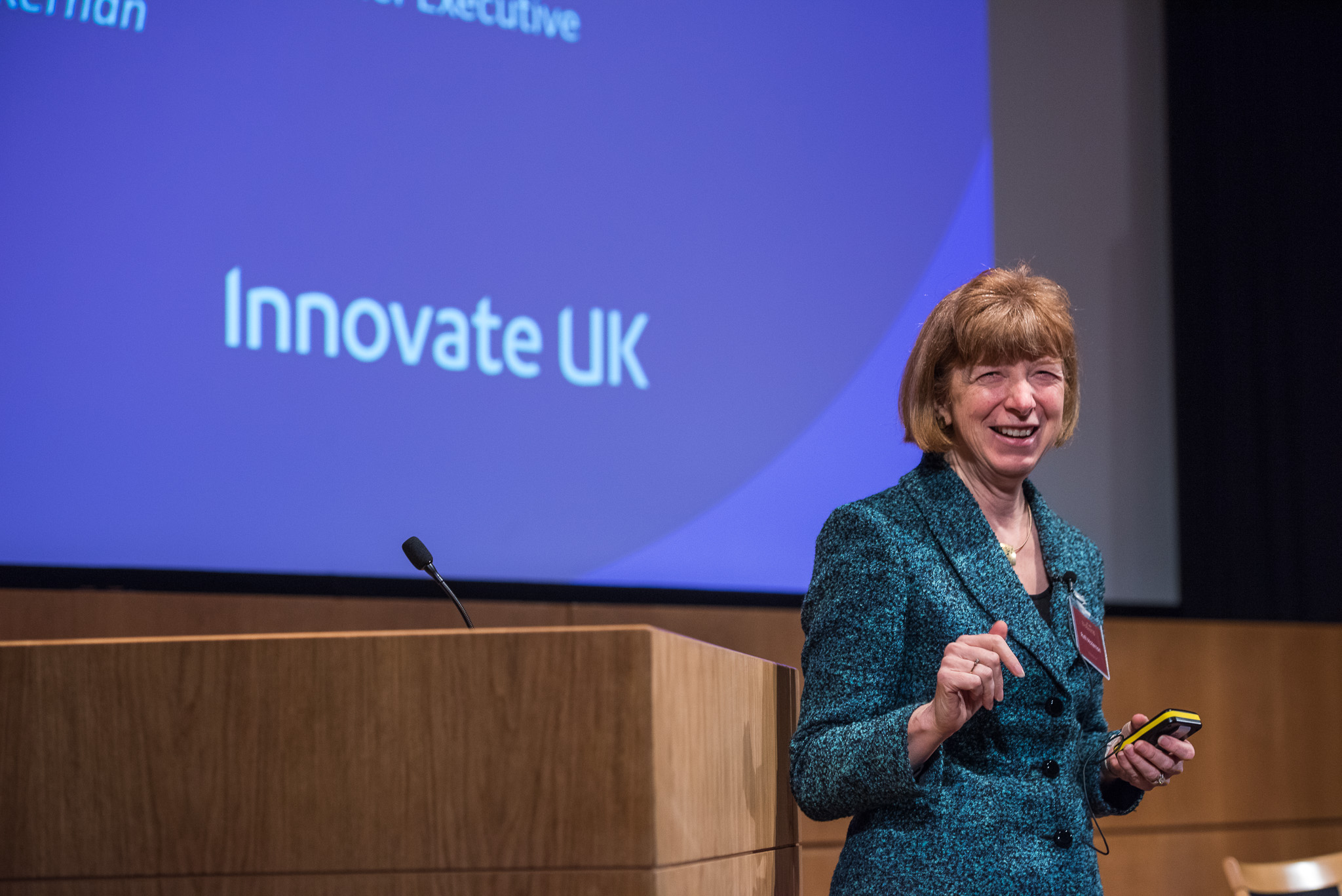BioBeat15: Ruth McKernan, CEO of Innovate UK