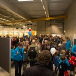 Over 18000 people visited the DESY campus on 7 November 2015 for the Night of Science. PHOTO: EMBL/Rosemary Wilson