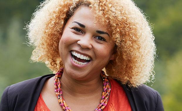 Yvonne Yeboah. PHOTO: EMBL Photolab/Marietta Schupp
