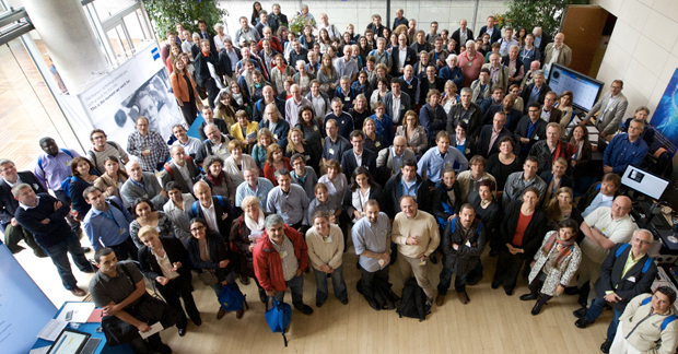 Participants at the 2014 Core Technologies in Life Science meeting at Institut Pasteur, Paris, France