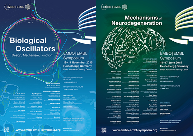 Designs by Aditya, EMBO|EMBL Symposia Biological Oscillators and Mechanisms of Neurodegeneration