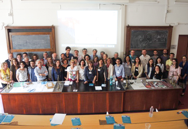 Italy-based alumni gathered for the 'EMBL in Italy' event on 27 May to learn about the focus of researchers at EMBL's Monterotondo site. PHOTO: EMBL/Isabelle Kling