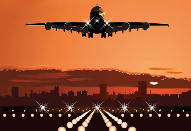 Cell Chemical Biology cover image (cropped) shows an airplane approaching a runway – a metaphor for a new method developed by EMBL scientists.