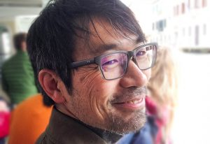 Kikusui spent 10 days this March in the Gross lab at EMBL brainstorming the neural mechanisms of social behaviour. PHOTO: Cornelius Gross
