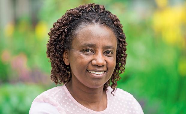 EMBL postdoc, Grace Mugumbate. PHOTO: Robert Slowley
