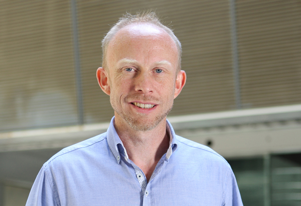 James Sharpe, new Head of EMBL Barcelona. IMAGE: CRG