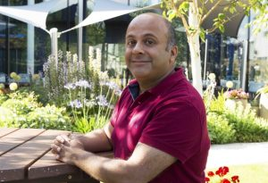 EMBL-EBI group leader Zamin Iqbal