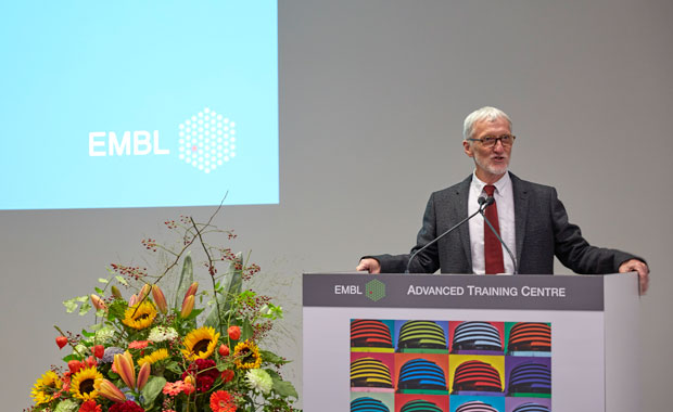 Iain Mattaj, EMBL Director General, welcomed participants and gave an overview of EMBL highlights from the past 12 months.