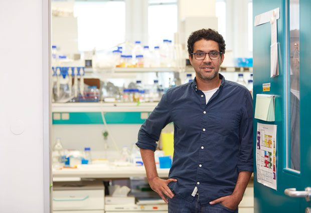 A photo of new EMBL Heidelberg group leader Aissam Ikmi.